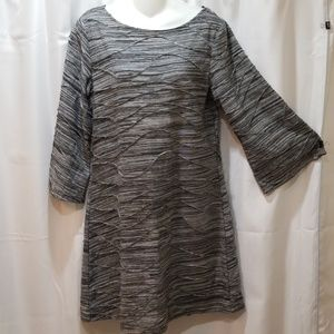 Sharagano 3/4 sleeve dress Size 10